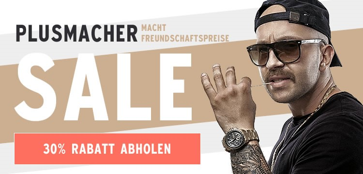Plusmacher Sale
